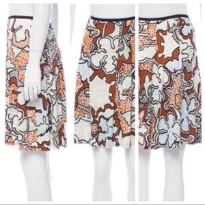 Diane Von Furstenberg - Tiffany Silk Skirt SZ 2